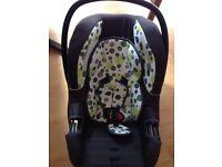 Baby weavers new born car seat