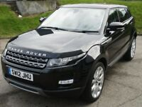 Land Rover Range Rover Evoque SD4 PURE TECH (black) 2012-07-12