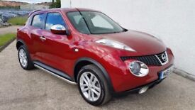 LIMITED EDITION NISSAN JUKE TEKNA 1.6 57,000 MILES STUNNING & RARE EXAMPLE **FINANCE AVAILABLE**