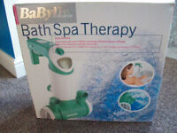 Babyliss bath spa therapy brand new jacuzzi