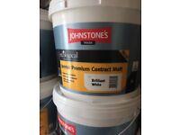 Johnstones white paint