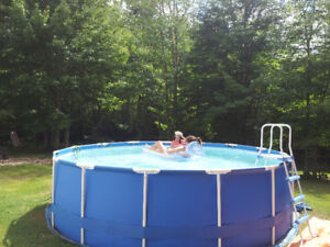 "15'x 48"" Intex pool"
