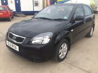 Kia Rio !!! Automatic !!! Black 5 door low mileage part x welcome