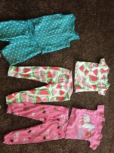 12m girls pj sets