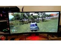 Acer z35 predator 200hz oc