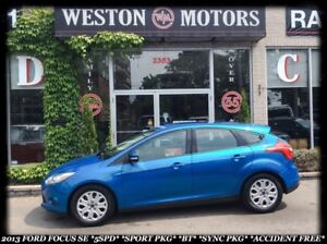 2013 Ford Focus SE*SPORT*HATCHBACK*5 SPEED*POWER GROUP*TECH PKG