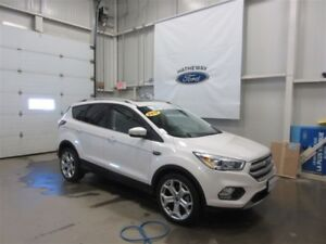 2017 Ford Escape Titanium - FORD CERTIFIED PRE-OWNED