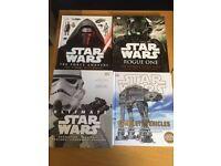 Star Wars film companion books X4