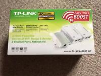 TP-Link wifi power line kit.