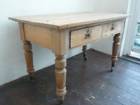 BEAUTIFUL VICTORIAN SIDE TABLE IN ON BRASS