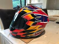 David Jefferies Replica OGK Motorcycle Helmet