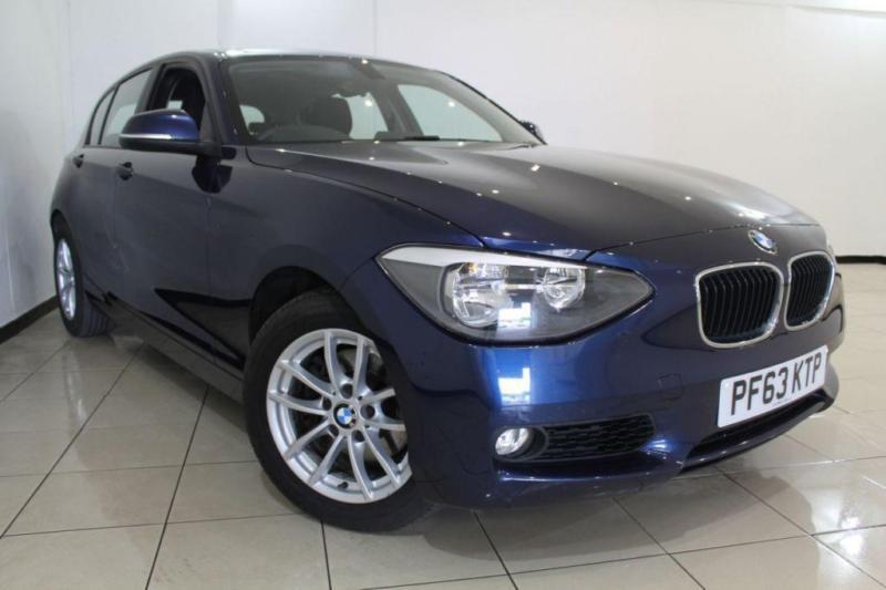 2014 63 BMW 1 SERIES 2.0 120D XDRIVE SE 5DR 181 BHP DIESEL