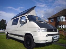 VW T4 Pop Top Campervan Fully Loaded Low Mileage Ready For Summer