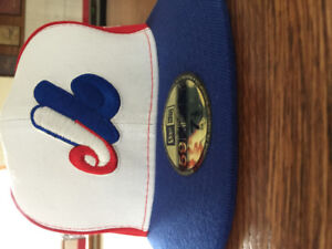 Montreal Expos Cooperstown Fitted Baseball Cap Size 7 1/2
