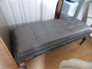 Custom made footstool/coffee table