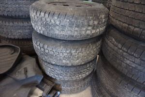 235 75 15 WINTER TIRES AVALANCHE