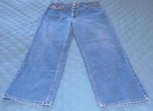 VINTAGE TOMMY HILFIGER MENS JEANS 36 x 31 WEEKENDER RELAXED FIT