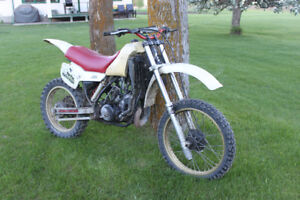 for sale yz 250 bike and parts bike!
