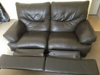 Beautiful leather sofa/couch