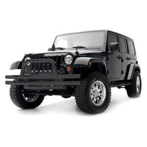 Jeep Wrangler front off road bumper with grill guard
