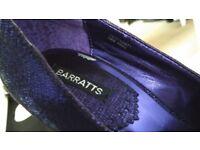 Size 5 purple heels