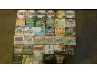 New and sealed cd albums, some with 100 tracks, rock pop dance 90s etc