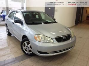 2006 Toyota Corolla CE*AIR CLIMATISE*BONNE CONDITION*
