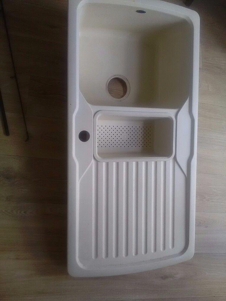 kitchen sink good condition | in canvey island, essex | gumtree