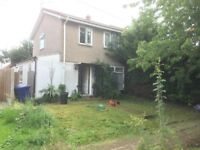 Nice four bedroom's house semi detach double reception