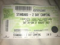 Standard - 2 day camping ticket