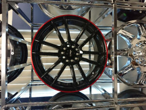 Mags/Rims 17x7 x 4 never used brand new in the box