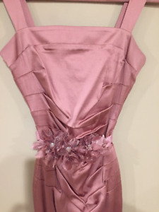 worn once Beautiful Antique Rose Dress Completely Lined