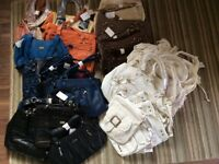 30 FASHION BAGS BUNDLE FOR £40 !!!
