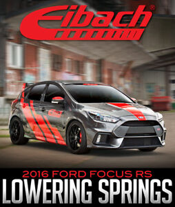EIBACH SUSPENSION PRO-KIT LOWERING SPRINGS: 2016 FORD FOCUS RS