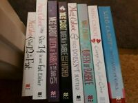 Various Meg Cabot books (princess diaries writer but these books are for YA or grown ups)