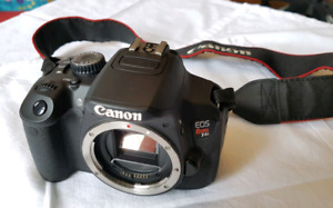 Canon EOS Rebel T4i DSLR Camera with extras