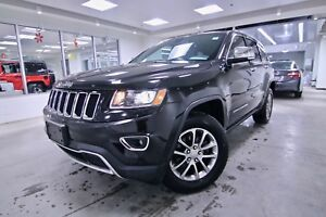 2016 Jeep Grand Cherokee LIMITED AWD CLEAN CARPROOF, NON SMOKER,