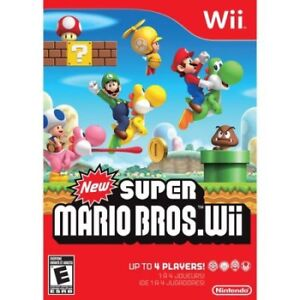 wanted: super mario bros wii game