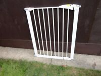 """no 8 ) mothercare stair gate 4 """" higher than others"""