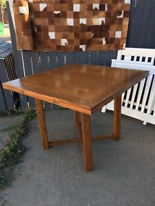 Solid Maple Bar Height Table