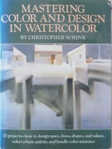 3 WATERCOLOUR PAINTING INSTRUCTION BOOKS ON DESIGN