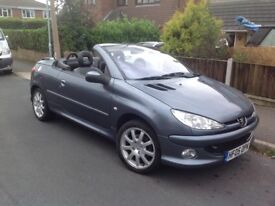 2005 Peugeot 206 cc 2005 1.6L engine 87670 mileage