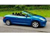 2007 07 Peugeot 307 CC S. 2.0 16v Hard top Convertible Coupe