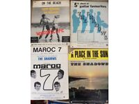 Large collection of original 60's Sheet Music