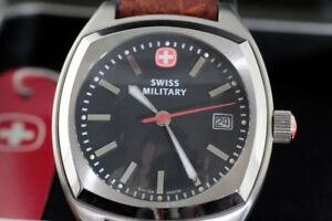 NEW IN ORIGINAL BOX SWISS ARMY MILITARY MAN'S WATCH FOR SALE