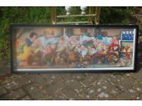 PICTURE PUZZLE OF SNOW WHITE/7 DWARFS