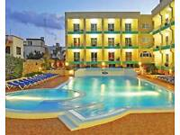 2 weeks Malta or Lanzarote