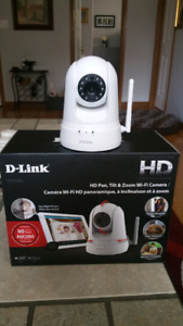 D-Link HD, Tilt & Zoom Wi-Fi Camera