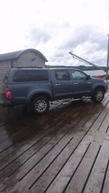 Toyota Hilux Invincible full service history