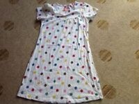 Spotty girls Joules summer dress Age 9-10 years